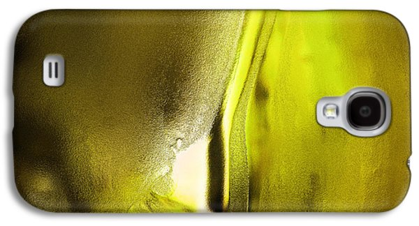 Abstract Yellow Galaxy S4 Case