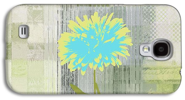 Abstractionnel - 29grfl3c-gr3 Galaxy S4 Case by Variance Collections