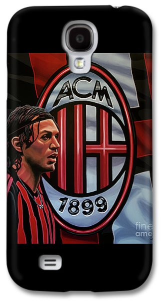 Ac Milan Painting Galaxy S4 Case