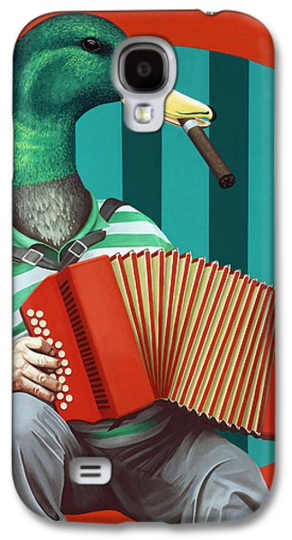 Accordion To This Galaxy S4 Case by Kelly Jade King
