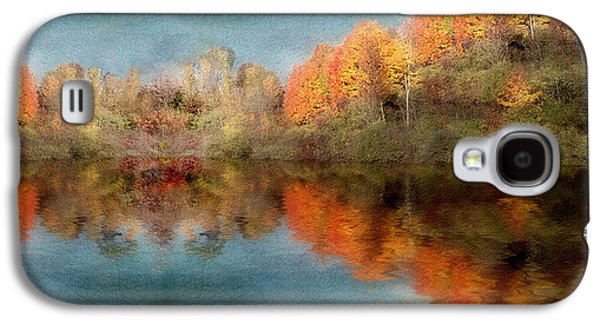 Accross The Lake In Autumn Galaxy S4 Case