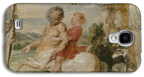Achilles Educated By The Centaur Chiron Galaxy S4 Case by Peter Paul Rubens