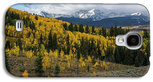 Galaxy S4 Case featuring the photograph Acorn Creek Autumn by Aaron Spong