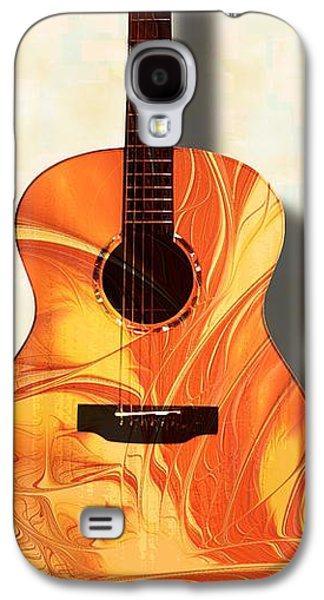Acoustic Guitar - Musical Instruments Galaxy S4 Case
