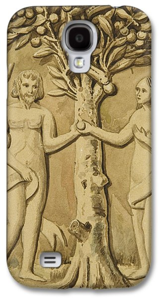 Adam And Eve Galaxy S4 Case by Joseph Manning