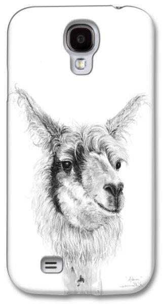 Llama Galaxy S4 Case - Adam by K Llamas