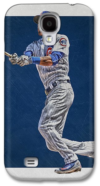 Addison Russell Chicago Cubs Art Galaxy S4 Case