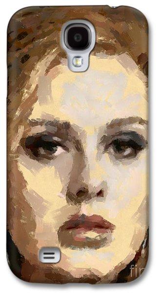 Adele Galaxy S4 Case by Dragica Micki Fortuna