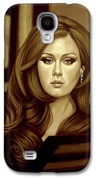 Rhythm And Blues Galaxy S4 Case - Adele Gold by Paul Meijering