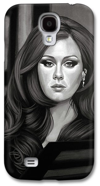 Adele Mixed Media Galaxy S4 Case