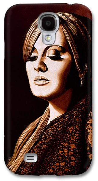 Rhythm And Blues Galaxy S4 Case - Adele Skyfall Gold by Paul Meijering