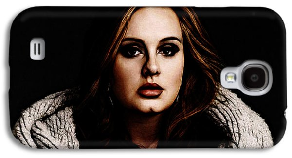 Adele Galaxy S4 Case by The DigArtisT