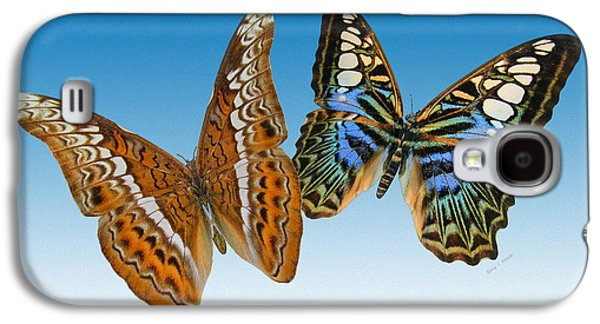 Admiral And Clipper Butterfly Galaxy S4 Case