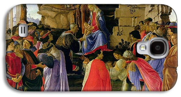 Adoration Of The Magi Galaxy S4 Case by Sandro Botticelli