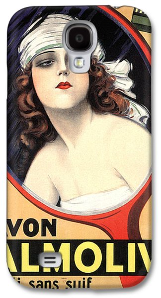 Advertisement For Palmolive Soap Galaxy S4 Case by Emilio Vila
