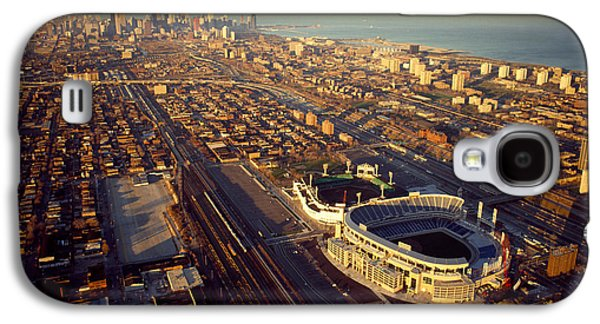 Aerial View Of A City, Old Comiskey Galaxy S4 Case by Panoramic Images