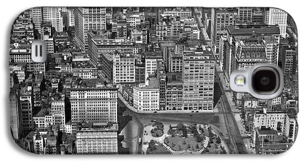 Aerial View Of Union Square Galaxy S4 Case by Underwood Archives