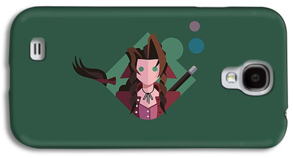 Aeris Galaxy S4 Case by Michael Myers