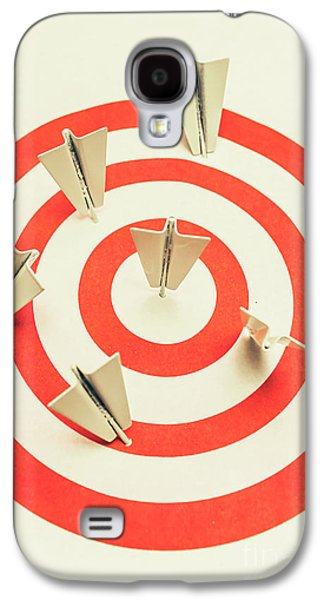 Aeroplane Target Pin Board Galaxy S4 Case by Jorgo Photography - Wall Art Gallery
