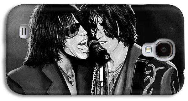 Aerosmith Toxic Twins Mixed Media Galaxy S4 Case by Paul Meijering