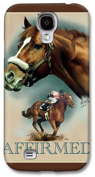 Affirmed With Name Decor Galaxy S4 Case