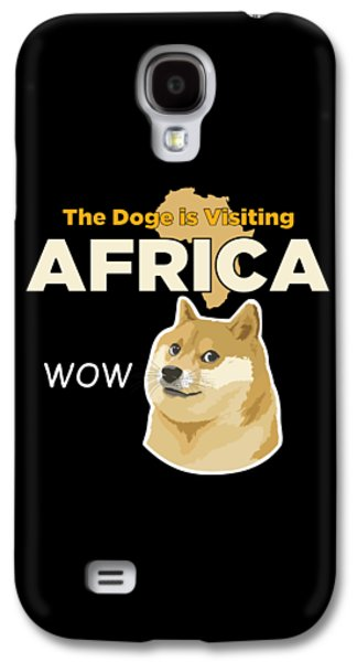 Africa Doge Galaxy S4 Case by Michael Jordan