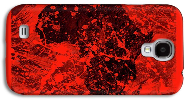 African Splatter Galaxy S4 Case by Brian Reaves
