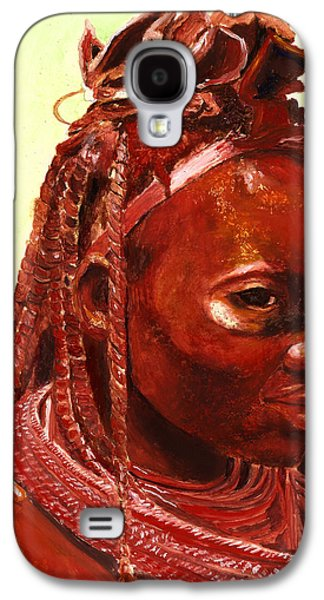 African Beauty Galaxy S4 Case