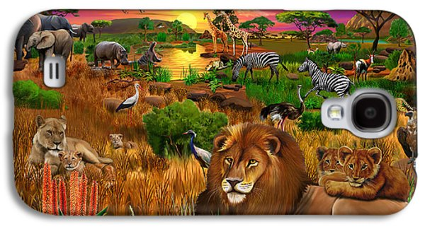African Evening Galaxy S4 Case by Gerald Newton