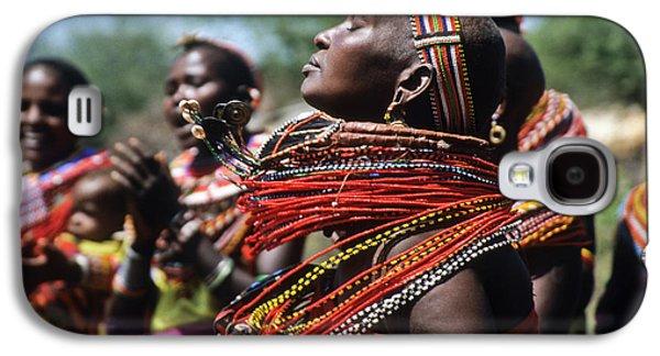 African Rhythm Galaxy S4 Case by Michele Burgess