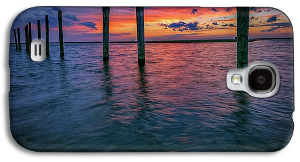 Afterglow On Great South Bay Galaxy S4 Case by Rick Berk