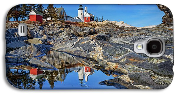 Afternoon At Pemaquid Point Galaxy S4 Case