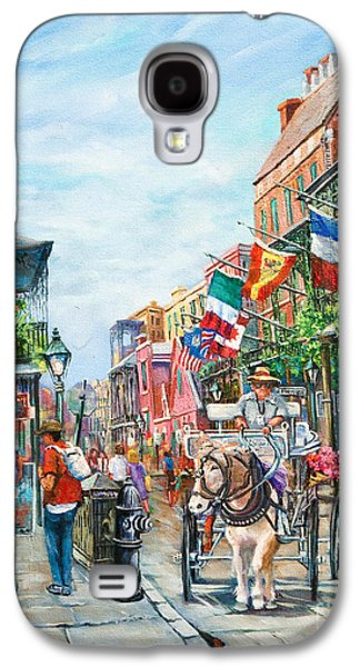 Afternoon On St. Ann Galaxy S4 Case