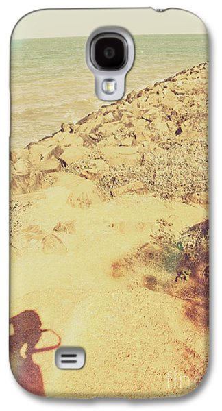 Afternoon Seascape Silhouette  Galaxy S4 Case by Jorgo Photography - Wall Art Gallery