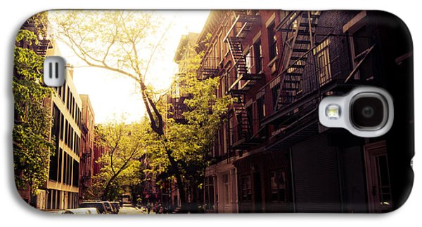Afternoon Sunlight On A New York City Street Galaxy S4 Case by Vivienne Gucwa