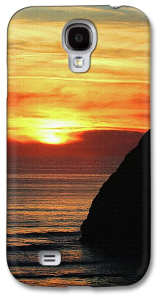 Agate Beach Oregon Galaxy S4 Case by Tom Janca