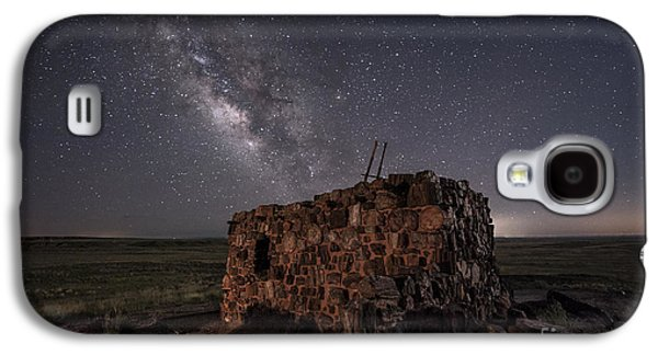 Agate House At Night Galaxy S4 Case by Melany Sarafis