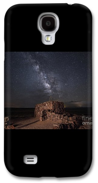 Agate House At Night2 Galaxy S4 Case by Melany Sarafis
