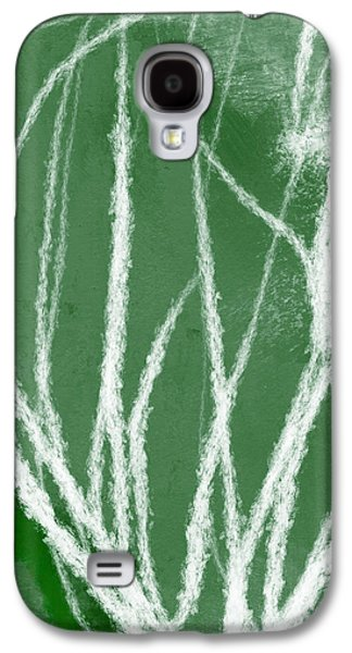 Agave- Abstract Art By Linda Woods Galaxy S4 Case