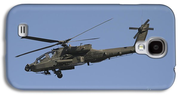Ah-64 Apache In Flight Over The Baghdad Galaxy S4 Case
