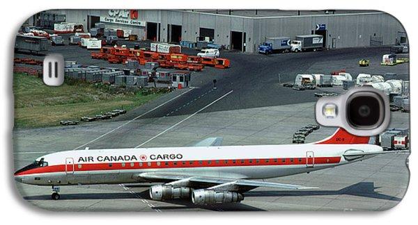 Air Canada Cargo Douglas Dc-8-54f, Cf-tjo Galaxy S4 Case by Wernher Krutein