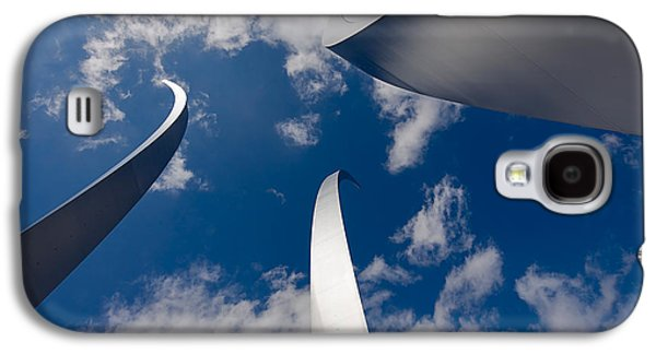 Stainless Steel Galaxy S4 Case - Air Force Memorial by Louise Heusinkveld