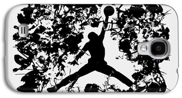 Air Jordan 1c Galaxy S4 Case by Brian Reaves