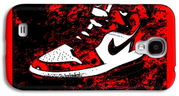 Air Jordan I Notorious Galaxy S4 Case by Brian Reaves