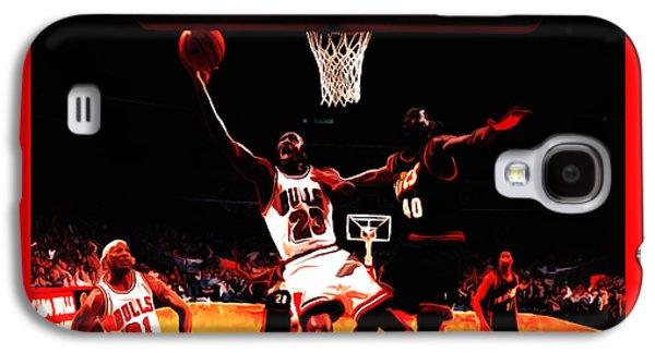 Air Jordan In Flight 3b Galaxy S4 Case by Brian Reaves
