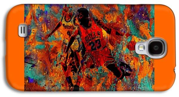 Air Jordan In The Paint 02a Galaxy S4 Case