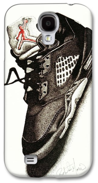 Air Jordan Galaxy S4 Case by Robert Morin