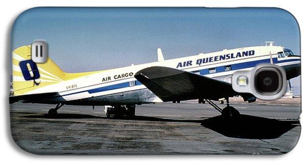 Air Queensland Douglas C-47a-20-dk, Vh-bpl Galaxy S4 Case by Wernher Krutein