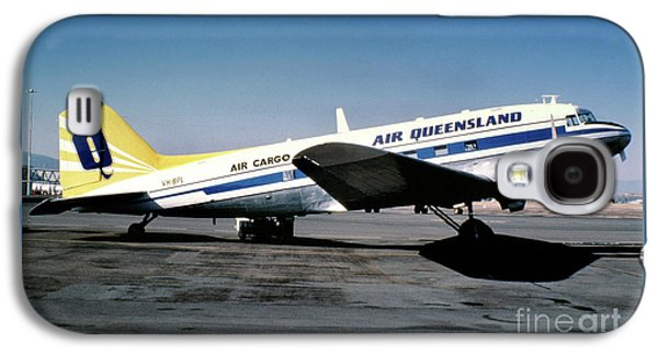 Air Queensland Douglas C-47a-20-dk, Vh-bpl Galaxy S4 Case