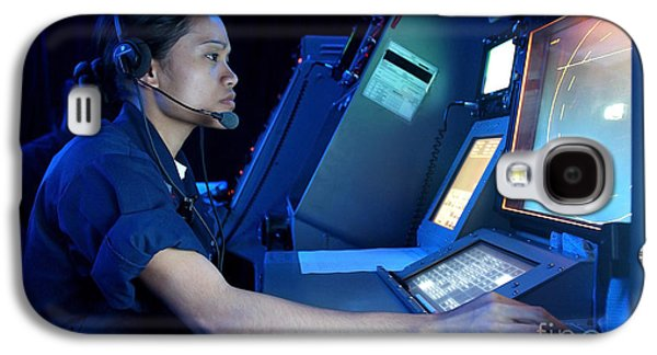 Air Traffic Controller Monitors Marine Galaxy S4 Case by Stocktrek Images
